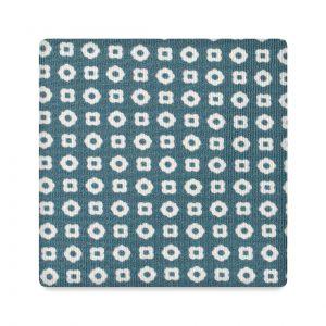 Viola Milano Printed Silk Tie - Cube Pattern Mint