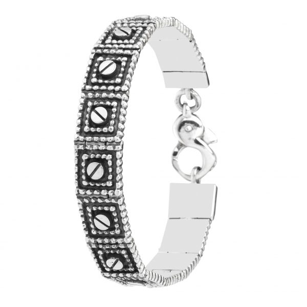 Osvaldo Benvenuti l JW18 – Viti-Imperniato Bracelet