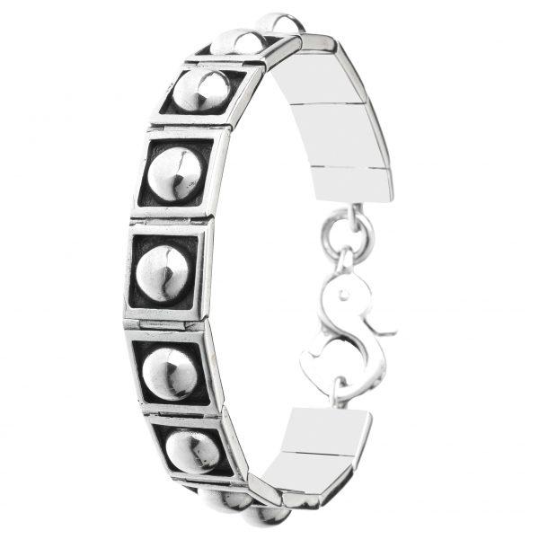 Osvaldo Benvenuti l JW53 – Medici imperniato Bracelet